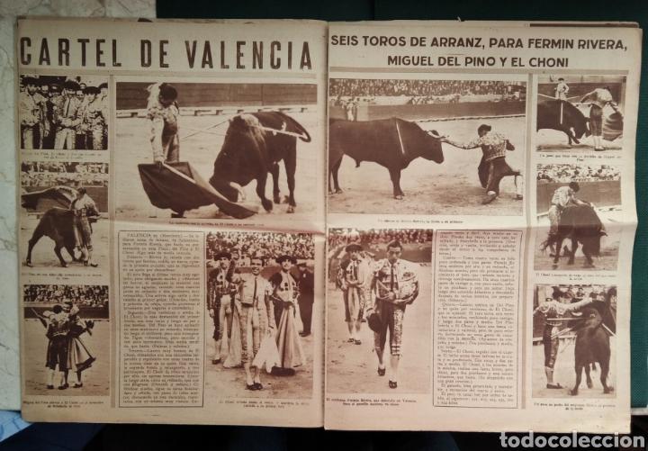 Coleccionismo de Revista Blanco y Negro: PERIÓDICO TAURINO EL RUEDO AÑO 1944, N°.21. - Foto 4 - 218074166