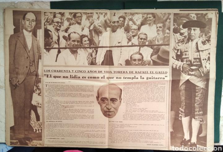 Coleccionismo de Revista Blanco y Negro: PERIÓDICO TAURINO EL RUEDO AÑO 1944, N°.21. - Foto 5 - 218074166