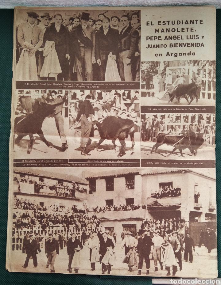 Coleccionismo de Revista Blanco y Negro: PERIÓDICO TAURINO EL RUEDO AÑO 1944, N°.21. - Foto 6 - 218074166