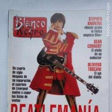 Coleccionismo de Revista Blanco y Negro: BLANCO Y NEGRO. Nº 3879. BEATLEMANÍA. 31 OCTUBRE 1993. TDKC75. Lote 218212270