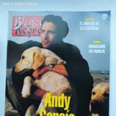 Coleccionismo de Revista Blanco y Negro: REVISTA BLANCO Y NEGRO Nº 4019. SEMANARIO DE ABC 7 JULIO 1996. ANDY GARCIA. TDKC75. Lote 218220557