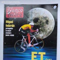 Coleccionismo de Revista Blanco y Negro: BLANCO Y NEGRO Nº 4018. SEMANARIO DE ABC. 30 JUNIO DE 1996. MIGUEL INDURAN. TDKC75. Lote 218220615