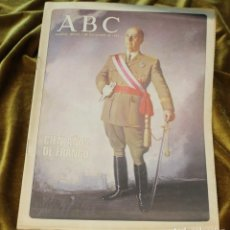 Coleccionismo de Revista Blanco y Negro: ABC, 1992, 100 AÑOS DE FRANCO, SUPLEMENTO COMPLETO PERSPECTIVAS DE DIFERENTES PERSONAJES. Lote 218238385