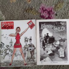 Coleccionismo de Revista Blanco y Negro: BLANCO Y NEGRO. NÚMERO 1 AÑO 1891 Y ESPECIAL 100 ANIVERSARIO 1991. Lote 218957746