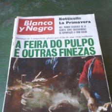 Coleccionismo de Revista Blanco y Negro: LOTE 3 REVISTAS DE BLANO Y NEGRO. Lote 219155458