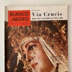 Coleccionismo de Revista Blanco y Negro: REVISTA BLANCO Y NEGRO N. 2501 DE 9 ABRIL 1960. Lote 221897916