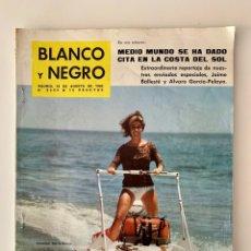 Coleccionismo de Revista Blanco y Negro: REVISTA BLANCO Y NEGRO N. 2624 DE 18 AGOSTO 1962. Lote 221901502