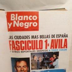 Coleccionismo de Revista Blanco y Negro: BLANCO Y NEGRO. UN TOMO ENCUADERNADO. AÑO 1966.. Lote 221922740