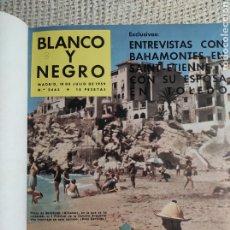 Coleccionismo de Revista Blanco y Negro: BLANCO Y NEGRO AÑO 1959 , TOMO CON Nº 2463, 2464, 2465, 2466, 2467, 2468, 2469,. Lote 222056878