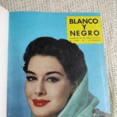 Coleccionismo de Revista Blanco y Negro: BLANCO Y NEGRO AÑO 1958 , TOMO CON Nº 2407, 2408, 2409, 2413, 2414, 2415, 2430,. Lote 222057516