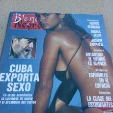 Coleccionismo de Revista Blanco y Negro: REVISTA BLANCO Y NEGRO AÑO 1991. CUBA EXPORTA SEXO. Lote 222111757