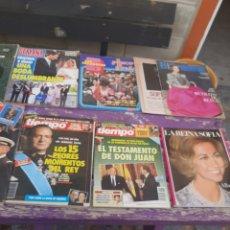 Coleccionismo de Revista Blanco y Negro: LA FAMILIA REAL. Lote 222191367