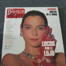 Coleccionismo de Revista Blanco y Negro: REVISTA BLANCO Y NEGRO N° 3670.. AÑO 1989 .LOLA FORNER , PAUL MCCARTNEY, VICTORIA VERA ,GABINETE CAL. Lote 222260632