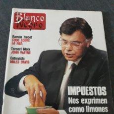 Coleccionismo de Revista Blanco y Negro: REVISTA BLANCO Y NEGRO N° 3672 . 12 DE NOVIEMBRE DE 1989. NBA RAMON TRECET TERENCI MOIX .MILES DAVIS. Lote 222276165