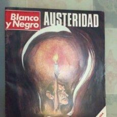 Coleccionismo de Revista Blanco y Negro: BLANCO Y NEGRO DEL 76 CON DIBUJO DE MINGOTE. Lote 222296648