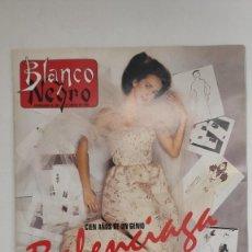 Coleccionismo de Revista Blanco y Negro: REVISTA BLANCO Y NEGRO. 100 AÑOS DE UN GENIO BALENCIAGA EL SUEÑO HECHO MUJER. 1995.. Lote 222543103