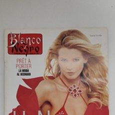 Coleccionismo de Revista Blanco y Negro: REVISTA BLANCO Y NEGRO. CLAUDIA SCHIFFER. UN NÚMERO DE PELÍCULA. LA MODAL DESNUDO. 1995.. Lote 222544177