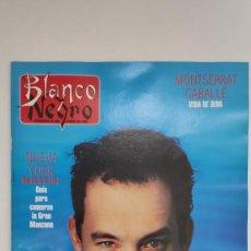 Coleccionismo de Revista Blanco y Negro: REVISTA BLANCO Y NEGRO. ENTREVISTA TOM HANKS UN BAÑO DE GLORIA. 1995.. Lote 222544826