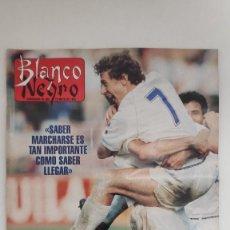 Coleccionismo de Revista Blanco y Negro: REVISTA BLANCO Y NEGRO. BUTRAGUEÑO. EL FIN DE UNA ERA. 1995.. Lote 222545781