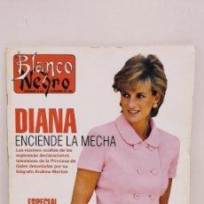 Coleccionismo de Revista Blanco y Negro: REVISTA BLANCO Y NEGRO 1995 DIANA ENCIENDE MECHA. DECLARACIONES EXPLOSIVAS DE LA PRINCESA DE GALES.. Lote 222548397