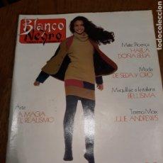 Coleccionismo de Revista Blanco y Negro: REVISTA BLANCO Y NEGRO N°3673 .AÑO 1989 .INES SASTRE . ALEX Y CRISTINA , MEL GIBSON. Lote 223146933
