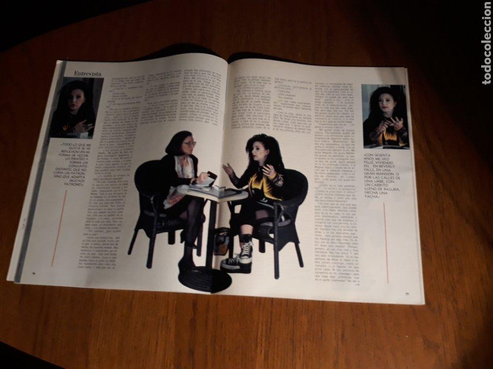 Coleccionismo de Revista Blanco y Negro: ENTREVISTA A ALASKA . MADONNA. REVISTA BLANCO Y NEGRO N° 3639 . MARZO AÑO 1989 - Foto 2 - 223278370