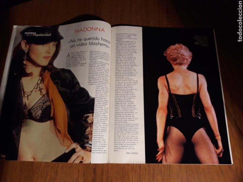 Coleccionismo de Revista Blanco y Negro: ENTREVISTA A ALASKA . MADONNA. REVISTA BLANCO Y NEGRO N° 3639 . MARZO AÑO 1989 - Foto 5 - 223278370