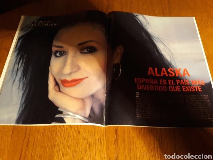 ENTREVISTA A ALASKA . MADONNA. REVISTA BLANCO Y NEGRO N° 3639 . MARZO AÑO 1989 (Coleccionismo - Revistas y Periódicos Modernos (a partir de 1.940) - Blanco y Negro)