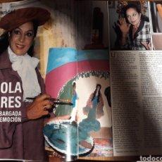 Coleccionismo de Revista Blanco y Negro: REVISTA BLANCO Y NEGRO N° 3585 .LINA MORGAN . MIGUEL BOSE. LOLA FLORES .SARA MONTIEL. RAPHAEL 1988. Lote 223280562