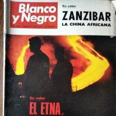 Coleccionismo de Revista Blanco y Negro: BLANCO Y NEGRO Nº 3083 DE 1971. EL ETNA- FUTBOL ESPAÑA EN MOSCU- WALTER BONATTI- ANTONIO BIENVENIDA.. Lote 223347586