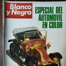 Coleccionismo de Revista Blanco y Negro: BLANCO Y NEGRO Nº 3077 DE 1971- AUTOMOVIL ESPECIAL- KIOTO- FRANK SINATRA- BILLY WILDER. CURRO ROMERO. Lote 223348142