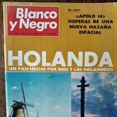 Coleccionismo de Revista Blanco y Negro: BLANCO Y NEGRO Nº 3065 DE 1971- BODA JULIO IGLESIAS ISABEL PREYSLER- MANOLO CARACOL- ALMERIA RALLYE. Lote 223351041