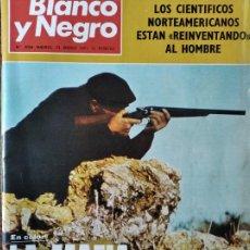 Coleccionismo de Revista Blanco y Negro: BLANCO Y NEGRO Nº 3064 DE 1971- LA MAFIA- FERRARI- COCO CHANEL- STA. MARIA LA REAL DE HUERTA- TOROS.. Lote 223351705