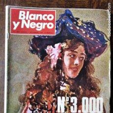 Coleccionismo de Revista Blanco y Negro: BLANCO Y NEGRO Nº 3000 DE 1969- ESPECIAL AÑO 1 1891, 3000 NUMEROS-. Lote 223355892