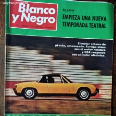 Coleccionismo de Revista Blanco y Negro: BLANCO Y NEGRO Nº 2997 DE 1969- ESPECIAL AUTOMOVIL FIAT 128 PEUGEOT 304, RENAULT 12 OPEL MERCEDES VO. Lote 223356405