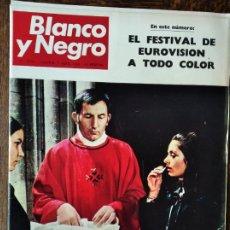 Coleccionismo de Revista Blanco y Negro: BLANCO Y NEGRO Nº 2970 DE 1969- APOLO 9- EUROVISION SALOME- LA HAYA- MAHOU- ASTRONAUTAS- IMEDIO PEGA. Lote 223360625