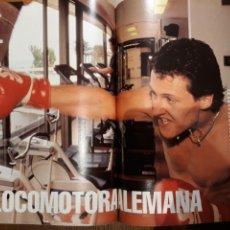 Coleccionismo de Revista Blanco y Negro: REPORTAJE DE LA LOCOMOTORA ALEMANA MICHAEL SCHUMACHER . 4 PAGINAS . AÑO 1994. Lote 223487757