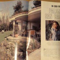 Coleccionismo de Revista Blanco y Negro: REVISTA AÑO 1989 . EL HOMBRE OBJETO. PASTORA VEGA .PALOMA SAN BASILIO. AÑO 1989. Lote 223490341