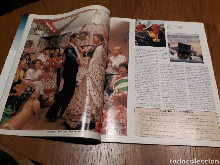 Coleccionismo de Revista Blanco y Negro: REVISTA BLANCO Y NEGRO N° 3590 .1988 .SEVILLA EN FERIA . JOSELITO . IBAÑEZ SERRADOR . - Foto 3 - 223843852