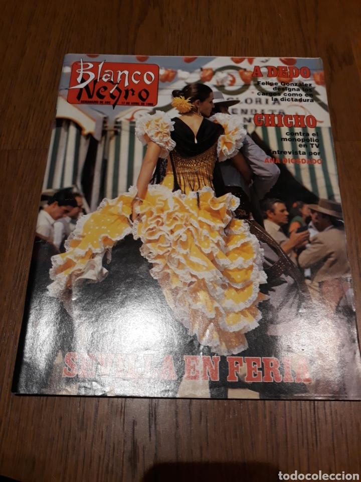 REVISTA BLANCO Y NEGRO N° 3590 .1988 .SEVILLA EN FERIA . JOSELITO . IBAÑEZ SERRADOR . (Coleccionismo - Revistas y Periódicos Modernos (a partir de 1.940) - Blanco y Negro)