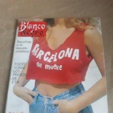 Coleccionismo de Revista Blanco y Negro: REVISTA BLANCO Y NEGRO N°3591.BARCELONA SE MUEVE . AÑO 1988 . PETROVIC ,MONTSERRAT CABALLE R MENDOZA. Lote 223928703