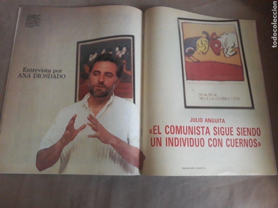Coleccionismo de Revista Blanco y Negro: REVISTA BLANCO Y NEGRO N° 3595 .1988. LOQUILLO . EL ROCIO . JULIO ANGUITA - Foto 4 - 223932753
