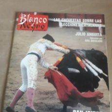 Coleccionismo de Revista Blanco y Negro: REVISTA BLANCO Y NEGRO N° 3595 .1988. LOQUILLO . EL ROCIO . JULIO ANGUITA. Lote 223932753