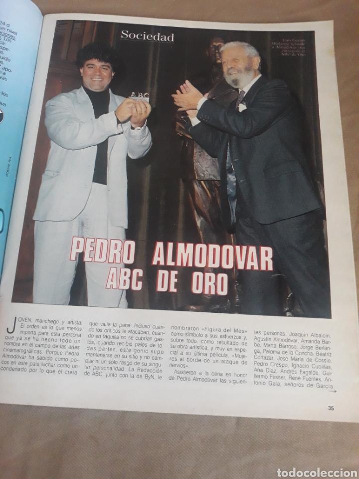 Coleccionismo de Revista Blanco y Negro: REVISTA BLANCO Y NEGRO N°3596. 1988 ELECCIONES CATALANAS. PEDRO ALMODÓVAR. MONTSERRAT CABALLE - Foto 3 - 223933388