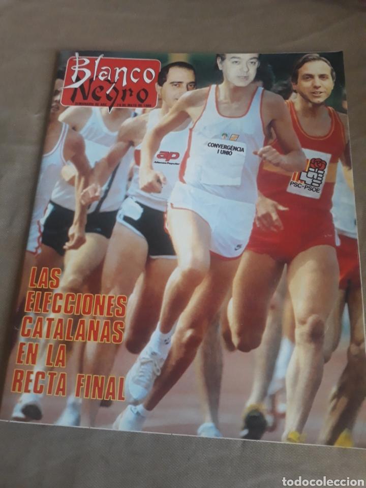 REVISTA BLANCO Y NEGRO N°3596. 1988 ELECCIONES CATALANAS. PEDRO ALMODÓVAR. MONTSERRAT CABALLE (Coleccionismo - Revistas y Periódicos Modernos (a partir de 1.940) - Blanco y Negro)
