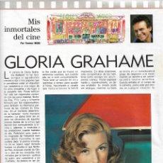 Coleccionismo de Revista Blanco y Negro: GLORIA GRAHAME: GRAN REPORTAJE ILUSTRADO. Lote 225276295