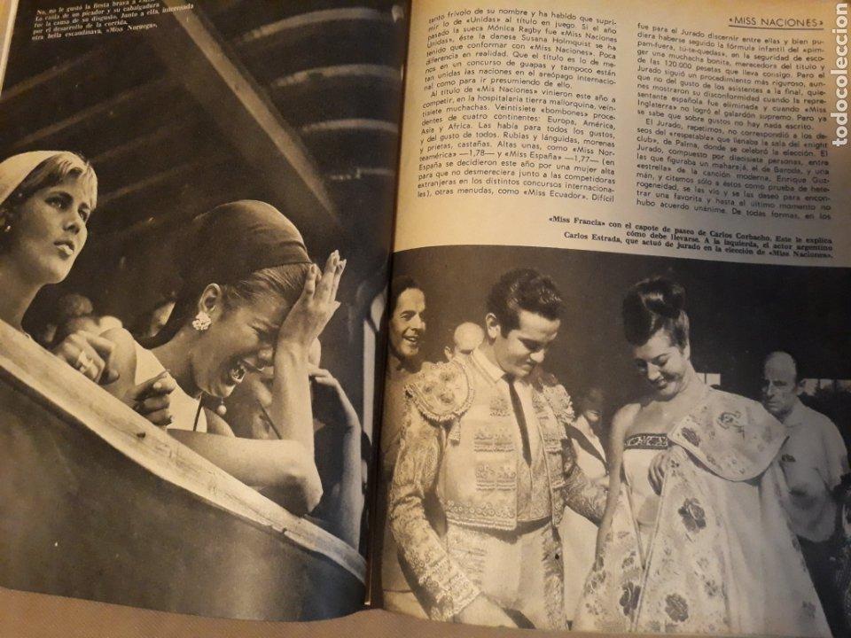 Coleccionismo de Revista Blanco y Negro: REPORTAJE DEL CONCURSO MISS NACIONES . AÑO1964 CELEBRADO EN PALMA DE MALLORCA .10 PÁGINAS - Foto 2 - 230013930