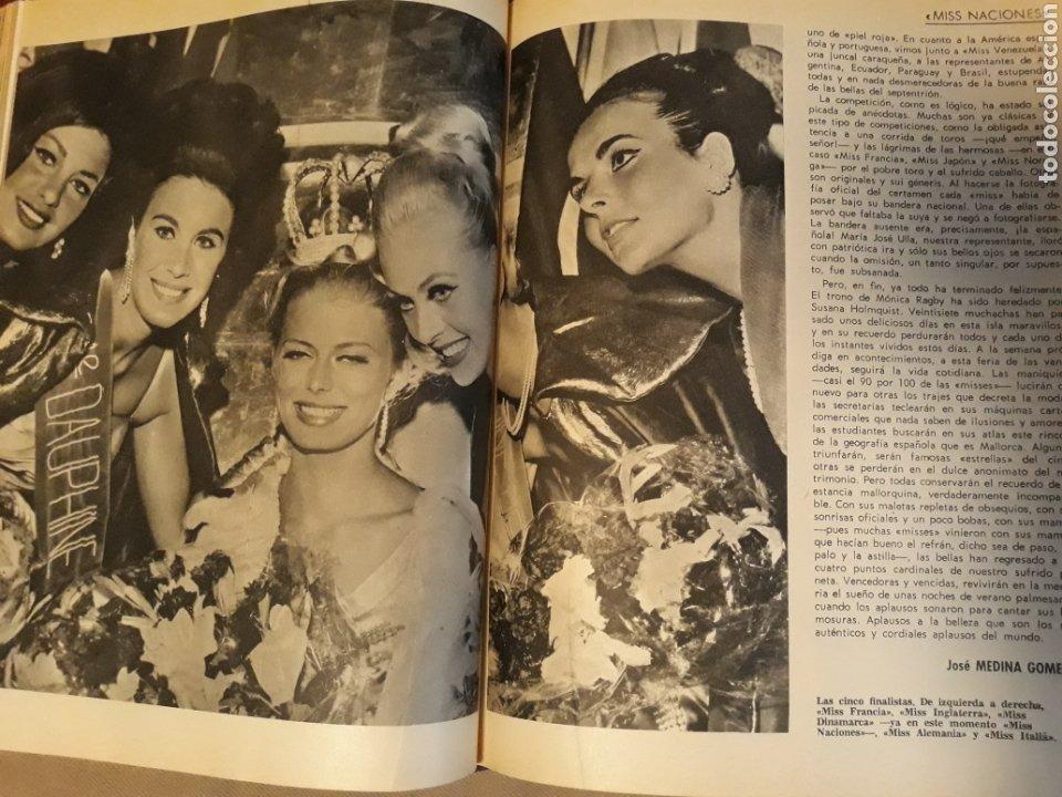 Coleccionismo de Revista Blanco y Negro: REPORTAJE DEL CONCURSO MISS NACIONES . AÑO1964 CELEBRADO EN PALMA DE MALLORCA .10 PÁGINAS - Foto 5 - 230013930