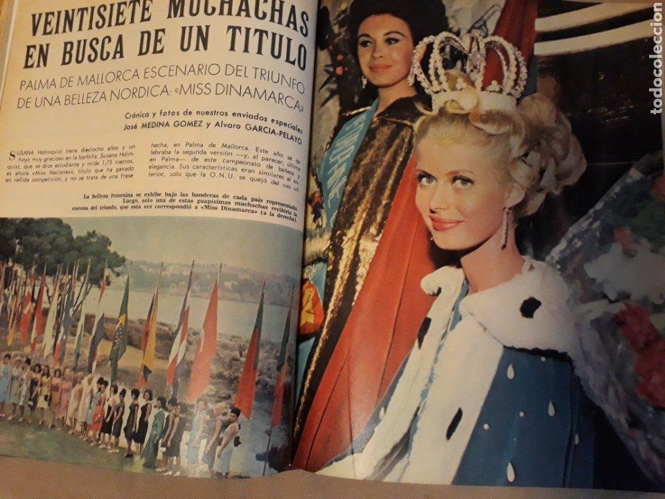 REPORTAJE DEL CONCURSO MISS NACIONES . AÑO1964 CELEBRADO EN PALMA DE MALLORCA .10 PÁGINAS (Coleccionismo - Revistas y Periódicos Modernos (a partir de 1.940) - Blanco y Negro)
