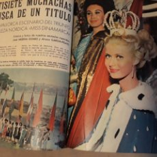 Coleccionismo de Revista Blanco y Negro: REPORTAJE DEL CONCURSO MISS NACIONES . AÑO1964 CELEBRADO EN PALMA DE MALLORCA .10 PÁGINAS. Lote 230013930